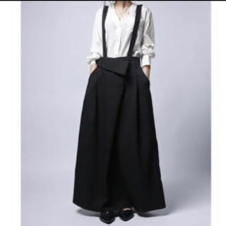 アンティカ   サロペットスカート  ブラック