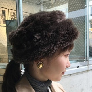 FREAK'S STORE - フリークスストア タグ付 新品未使用 ファー帽子