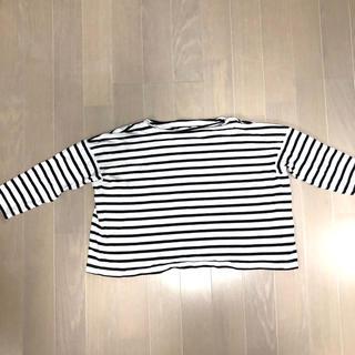 ジーユー(GU)の【12月末までの出品!】 ボーダーTシャツ(Tシャツ(長袖/七分))