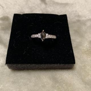 プラチナ ブラックダイヤリング(リング(指輪))