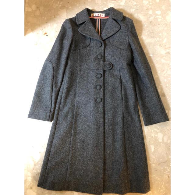 Marni(マルニ)の超美品 マルニ Marni コート レディースのジャケット/アウター(ロングコート)の商品写真