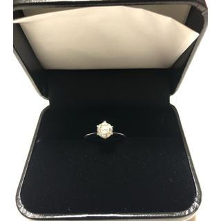 ジュエリーマキ(ジュエリーマキ)のK18WGダイヤモンドリング(リング(指輪))