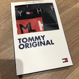 TOMMY HILFIGER - トミー ボクサーパンツ メンズ Lサイズ 赤 TOMMY HILFIGER