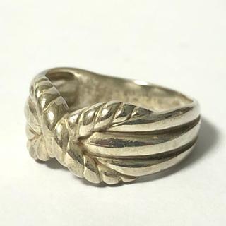 1806 シルバーリング ねじりデザイン 925 16号(リング(指輪))