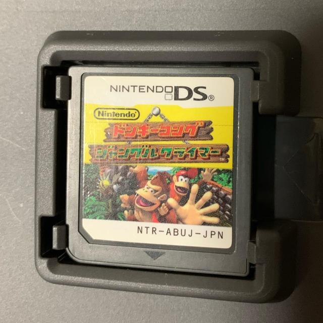 任天堂(ニンテンドウ)のドンキーコング ジャングルクライマー DS エンタメ/ホビーのゲームソフト/ゲーム機本体(携帯用ゲームソフト)の商品写真