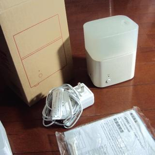 MUJI (無印良品) - 無印良品のコンパクト超音波加湿器