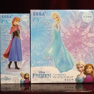 アナと雪の女王 - アナと雪の女王 プレミアムフィギュア アナ&エルサ 2種セット