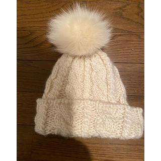 aquagirl - ファー付きニット帽