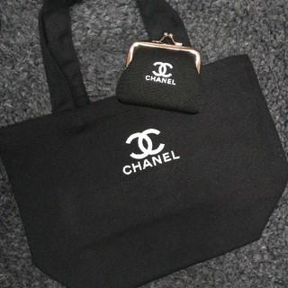 CHANEL - ラスト1セット キャンバストート&がま口財布
