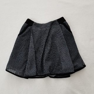 マメ(mame)のmame size フレアスカート(ひざ丈スカート)