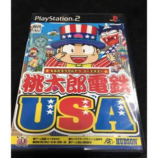 プレイステーション2(PlayStation2)の桃鉄USA(家庭用ゲームソフト)
