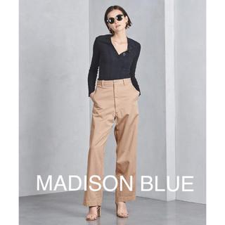 MADISONBLUE - 【MADISON BLUEマディソンブルー】チノハイウエストパンツ/01
