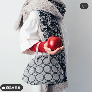 mina perhonen - 新品未使用 ミナペルホネン タンバリン bell bag