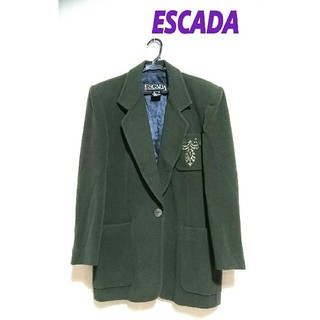 エスカーダ(ESCADA)のESCADA エスカーダ・ウールジャケット(テーラードジャケット)