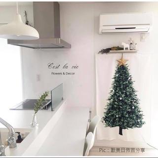 クリスマスタペストリー 150cm ×75cm