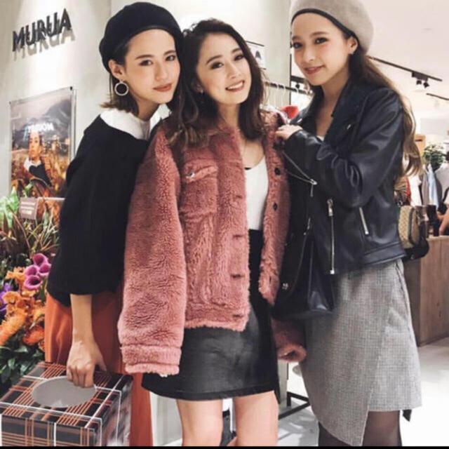 MURUA(ムルーア)のMURUA レディースのジャケット/アウター(毛皮/ファーコート)の商品写真