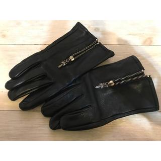 クロムハーツ(Chrome Hearts)のクロムハーツ レザー グローブ 手袋(手袋)
