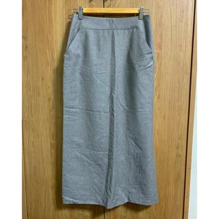 23区 - 23区 オンワード ウール カシミア ロング スカート   グレー 38サイズ