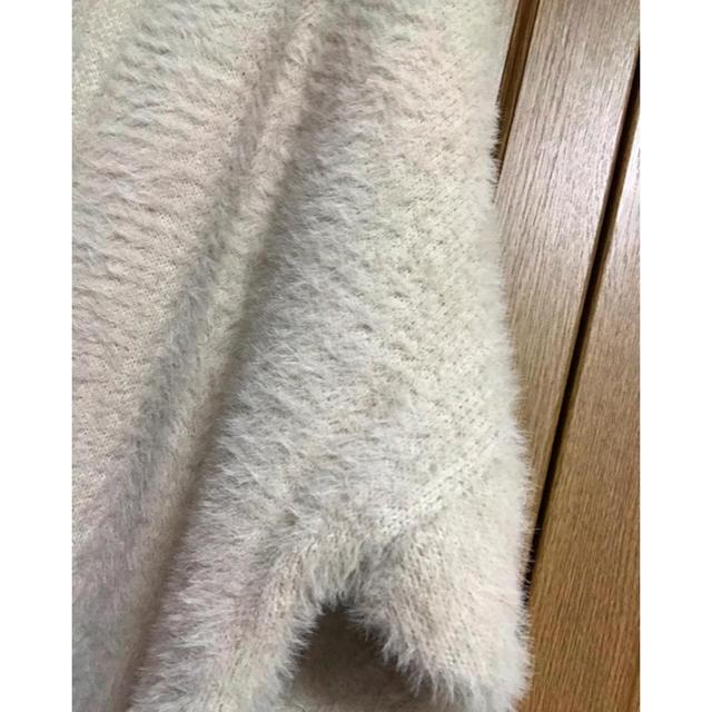 dholic(ディーホリック)のstorynine エコミンクファーコート ライトベージュ レディースのジャケット/アウター(ロングコート)の商品写真