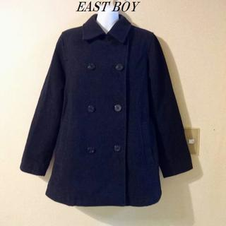 EAST BOYイーストボーイ♡9号 紺色 毛90%ピーコート