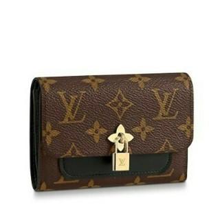 エムシーエム(MCM)のルイヴィトン 財布 3つ折り 三つ折り ノワール LV ロゴ フラワー(折り財布)