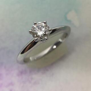 ティファニー(Tiffany & Co.)の新品仕上 ティファニー 0.38ct 3EX VS1 ソリティア ダイヤリング(リング(指輪))