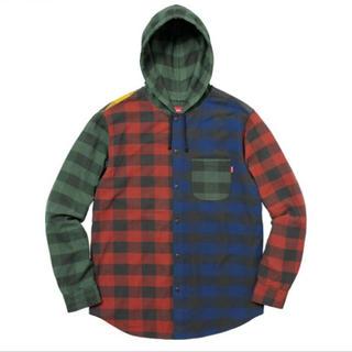 シュプリーム(Supreme)のSupreme Hooded Buffalo Plaid Flannel M(シャツ)