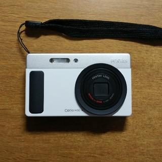 PENTAX - Optio H90 充電器付 PENTAX デジタルカメラ