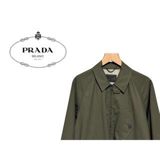 プラダ(PRADA)のPRADA ポリウレタンコーティング ステンカラーコート / プラダ ジャケット(スプリングコート)