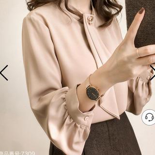 アプワイザーリッシェ(Apuweiser-riche)の韓国服♡シフォントップス(シャツ/ブラウス(長袖/七分))