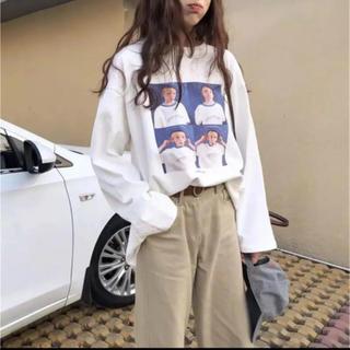dholic - 大人気なため再入荷いたしました!ルーズロングスリーブTシャツ