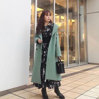 rienda - リエンダ花柄新作ワンピース