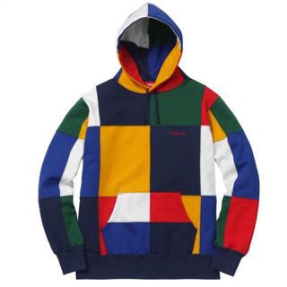 Supreme - Supreme Patchwork Hooded Sweatshirt L