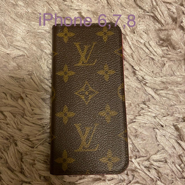LOUIS VUITTON - iPhone6,7,8ケース ルイヴィトン の通販