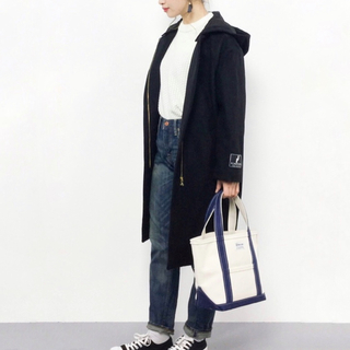 Sonny Label - 【URBAN RESEARCH Sonny Label】2WAYフードコート 黒