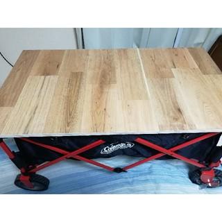 コールマン(Coleman)のColemanの キャリーワゴン用のテーブル(テーブル/チェア)