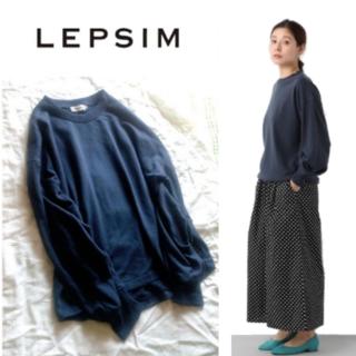 LEPSIM - LEPSIM/ロングスリーブ トレーナー