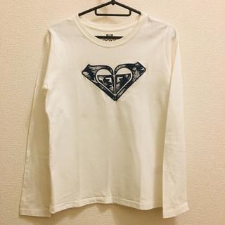 ロキシー(Roxy)のロキシー roxy カットソー ロンT 長袖 ロゴ 白 ホワイト Tシャツ(Tシャツ(長袖/七分))