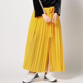 ROSE BUD - ROSEBUD★極美品★スリット入りプリーツスカート