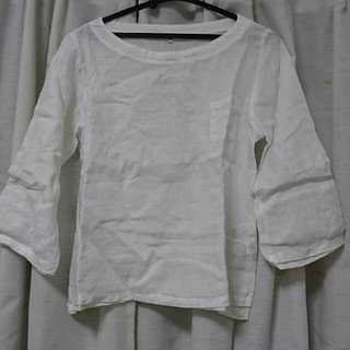 ムジルシリョウヒン(MUJI (無印良品))の無印良品 麻100% シャツ(シャツ/ブラウス(長袖/七分))