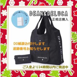 DEAN & DELUCA - 紙袋付き正規品DEAN&DELUCA黒エコバッグショッピングバッグ*トートバッグ
