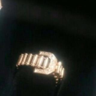 K18ダイヤリング ピンクゴールド(リング(指輪))
