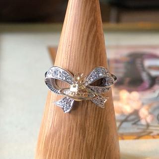 ヴィヴィアンウエストウッド(Vivienne Westwood)の新品 Vivienne リボン GAIL RING ガイルリング(リング(指輪))