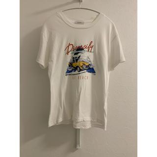 ジーナシス(JEANASIS)のジーナシス カーモチーフプリントTEE レディース  春 夏 tシャツ(Tシャツ(半袖/袖なし))