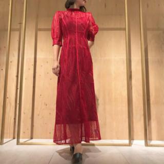 FRAY I.D - 新品 FRAY I.D(フレイ アイディー)チュールエンブロイダリ―ドレス