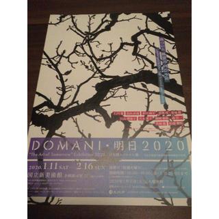 国立新美術館DOMANI明日2020日本博スペシャル展招待券2枚写真模型彫刻絵画(美術館/博物館)