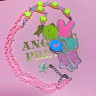 アンジェリックプリティー(Angelic Pretty)のangelic pretty ネックレス バルーン(ネックレス)