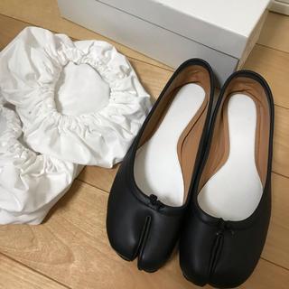 DEUXIEME CLASSE - メゾンマルジェラ 足袋バレエ tabi ブラック 37ハーフ