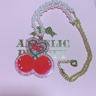 アンジェリックプリティー(Angelic Pretty)のフレッシュ チェリー ネックレス(ネックレス)