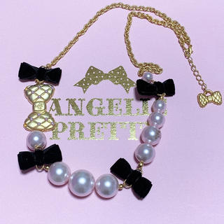 Angelic Pretty - cinema doll ネックレス ピンク